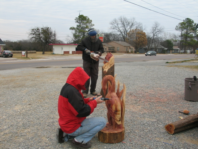 Carved wonders david s chainsaw carvings