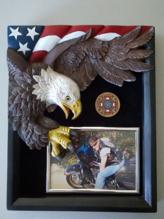 Eagle and Flag Hero Frame